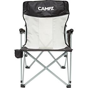 CAMPZ Mesh Silla plegable, black/grey